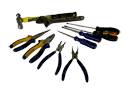 Obeng, Tang, Snap Ring, Hammer, Adjustable Wrench
